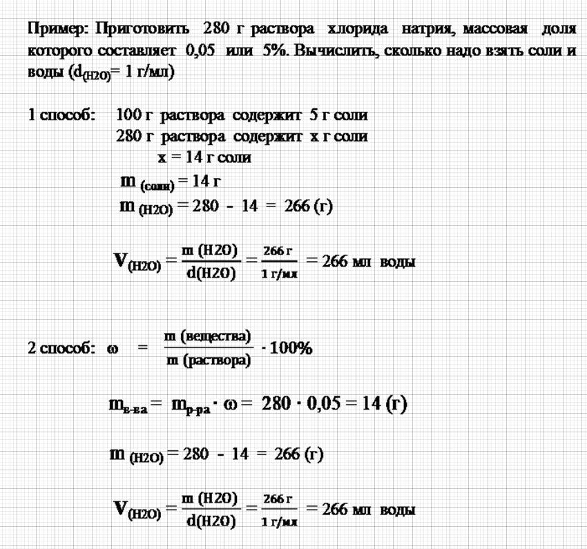 Решение задач на массовая доля растворенного вещества решение задач по механике из егэ