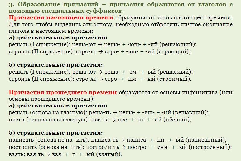 Контрольная работа по теме деепричастия и причастия 3312